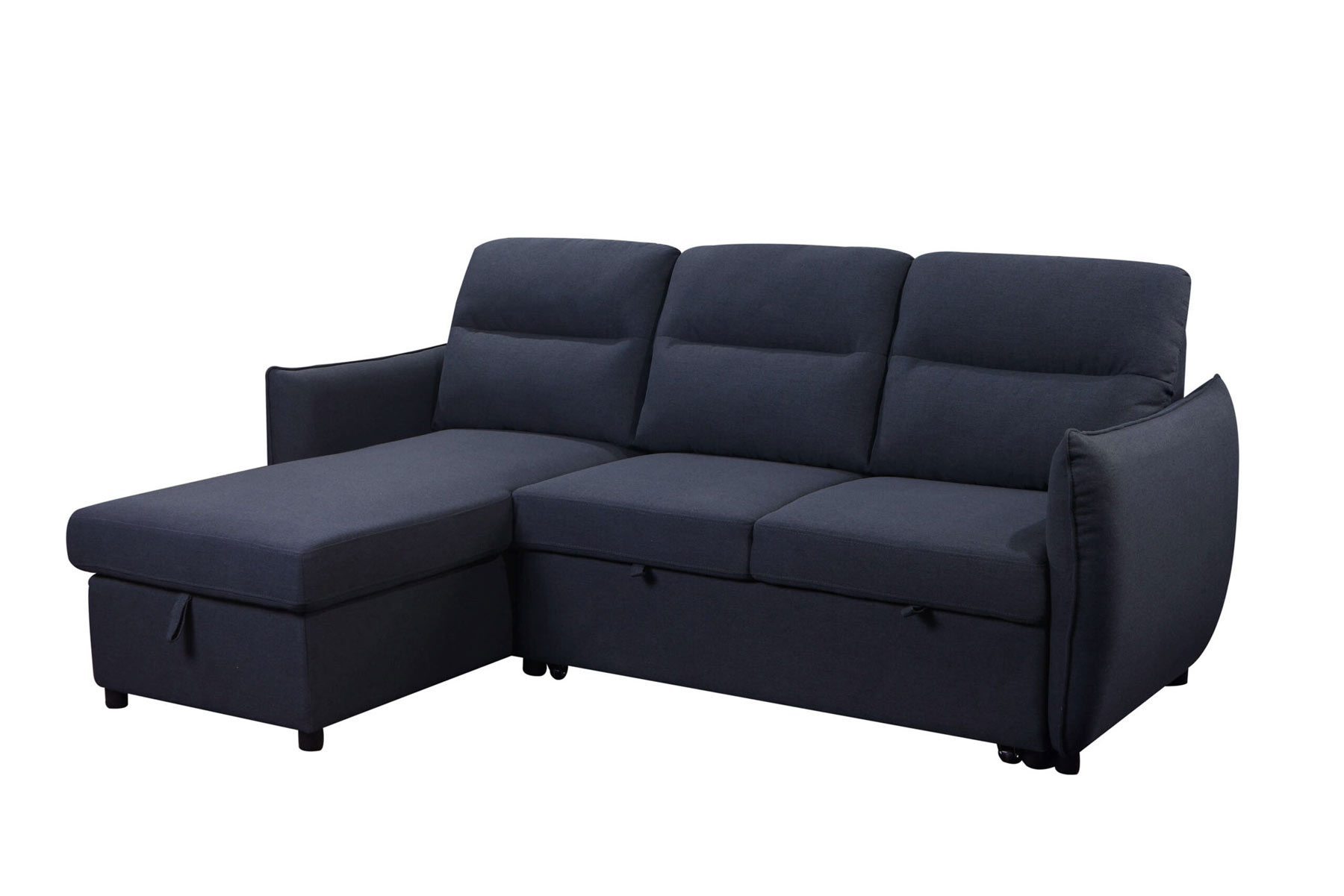 Katie Sofa Bed Fabric Sectional/storage