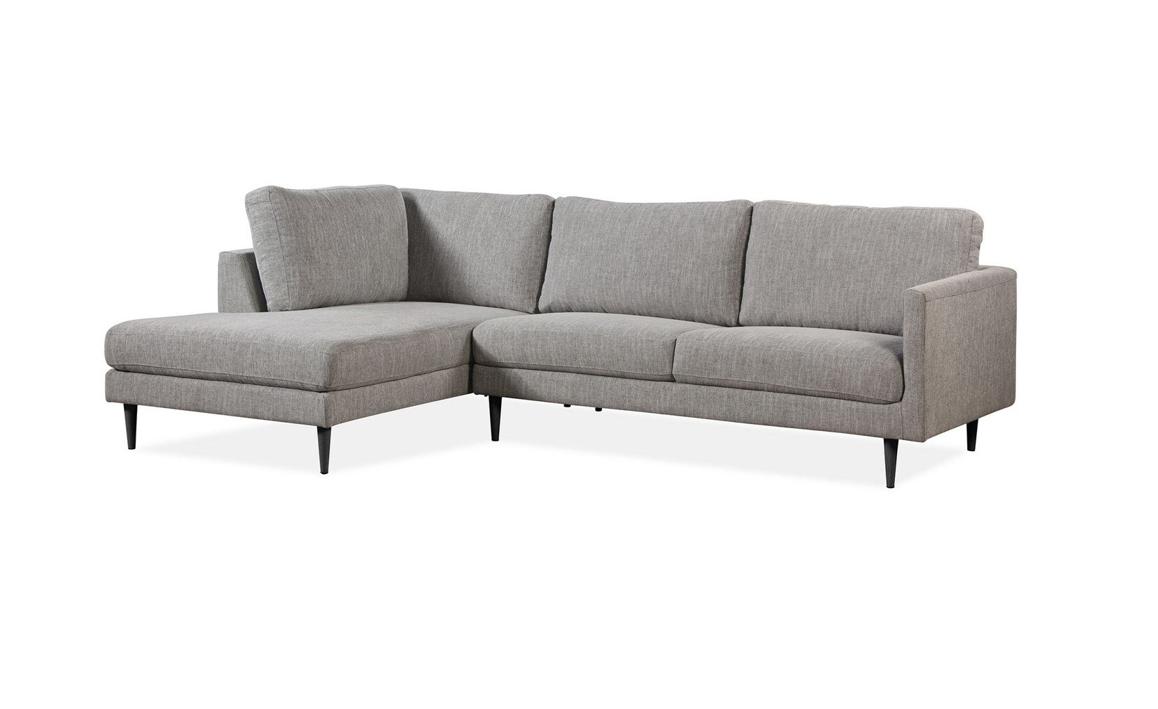 Zurich Grey Fabric Sectional